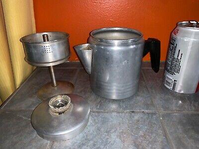 Vintage CHILTON WARE Small Aluminum Stove Top PERCOLATOR