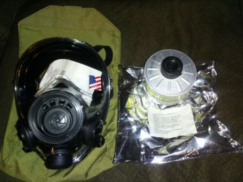 SGE 400/3 tactical 40mm gas mask with NATO filter and bag M/L