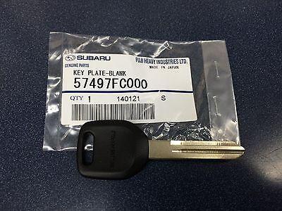 Genuine Subaru Steel Key Blank Forester Impreza Legacy Outback Baja STI WRX OEM