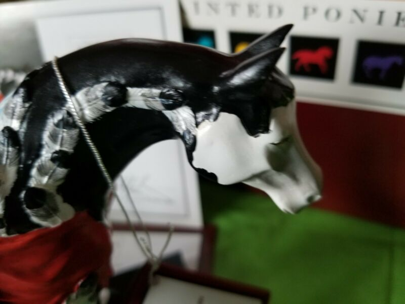 Trail of Painted Ponies  RETIRED CRAZY HORSE  1E/2838  SIGNED 240/250