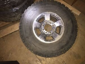 35 x 12.5 x 17 Ram 3500 wheels and tires