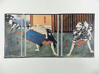 HIROSADA Japan Blockbuch ° Holzschnitte aus Kamigata ° Artia Prag 1959
