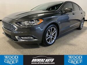 2017 Ford Fusion SE CLEAN CARFAX, ONE OWNER, HEATED LEATHER S...