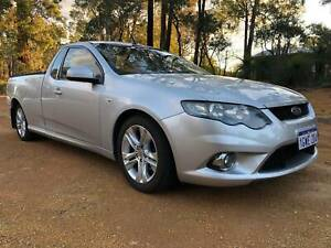 2010 Ford Falcon XR6 6 Speed Automatic Ute