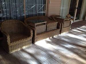 Cane outdoor 6 piece setting Palm Beach Pittwater Area Preview