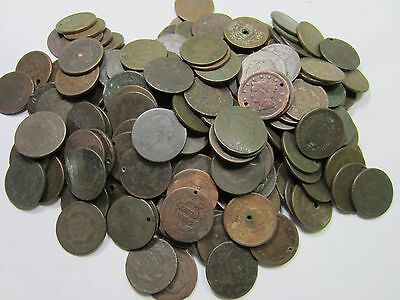 (10) Random Mixed 1800's Large Cent Lot // 10 COINS