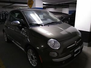 2014 Fiat 500c Convertible for sale Black Top / Interior