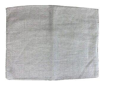 The Purists Beige Ivory Diamond Chevron Design Linen Cotton Boudoir Pillow Sham Ivory Boudoir Pillow