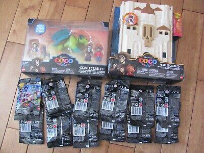 Disney Pixar Coco Skullectables Set of 12 Blind Bags + Hacienda Land of the Dead - Halloween Dead Smurf