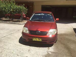 2001 Toyota Corolla Sedan Pendle Hill Parramatta Area Preview