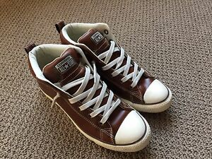 Converse Chuck Taylor All Star Street Mid Top Leather Pinecone