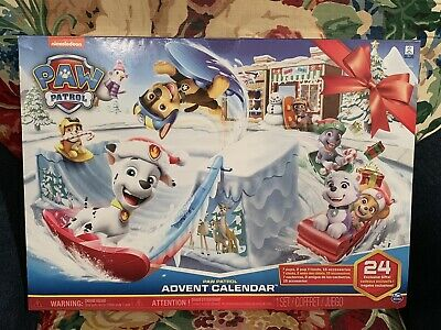 Paw Patrol - Advent Calendar Release - Includes 24 Gifts to Explore - Ages 3