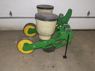 2 Row John Deere Flex Food Plot Corn Planter Jd 71 Fiberglass Hoppers