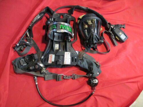 MSA FIREHAWK 4500 SCBA  MASK  DIGITAL CONSOLE BELL  PASS ALARM FIRE FIREFIGHTER