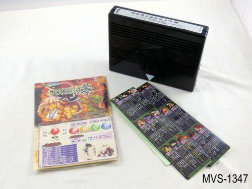 Samurai Spirtis Zero Neo Geo MVS Arcade Japanese Import Shodown 5 V US Seller
