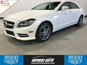 2014 Mercedes-Benz CLS-Class CLS 550 AWD, MASSAGING SEATS, AD...