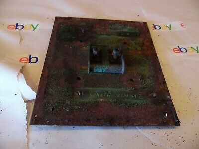 1941 Oliver 60 Row Crop Farm Tractor Seat Plate Very Nice