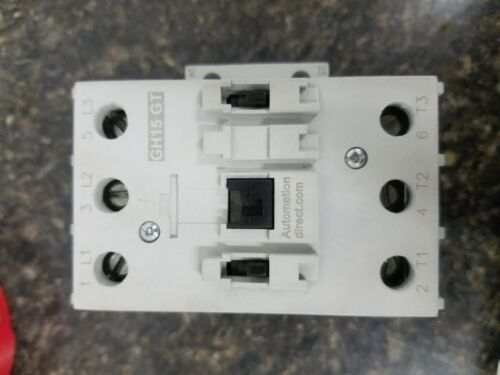 AUTOMATION DIRECT GH15GT 120-600VAC 3PH 25HP CONTACTOR