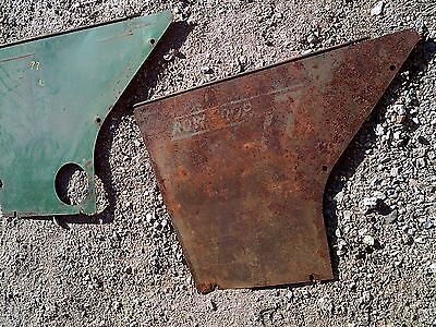 Oliver 77 Rowcrop Tractor Original Rear Side Cover Panel Panels Shields