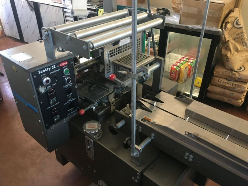 Doboy Scotty II - Horizontal Flow Wrapper. Professionally Serviced / Calibrated