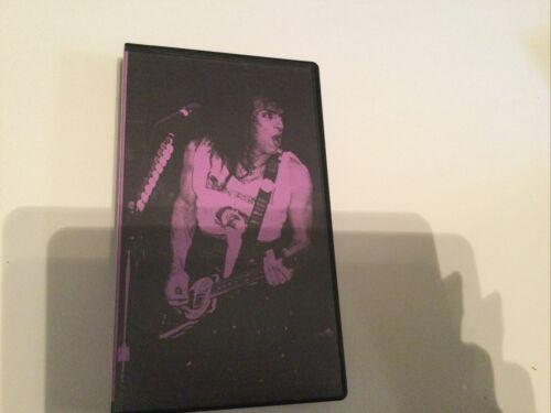 PAUL STANLEY SOLO TOUR NEW HAVEN CT. 3/12/89 PRO SHOT VHS - $10.00