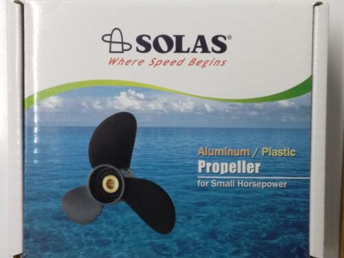 """Solas 3 Blade Plastic Propeller 7.3"""" Dia. 6"""" Pitch Right Hand 0001-073-06P MD"""