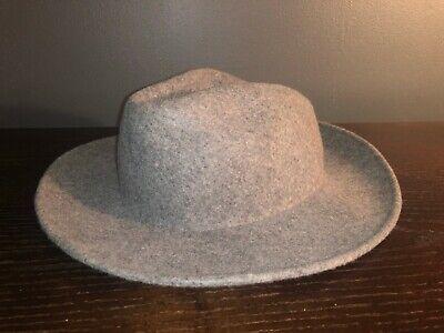 Zara Man Mens Wool Felt Fedora Hat Size M