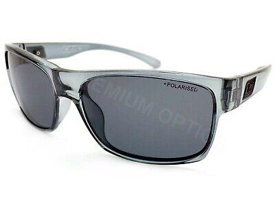 Dirty Dog - Ofen Polarisierte Sonnenbrillen Kristall Grau/Dunkel Grau Gläser