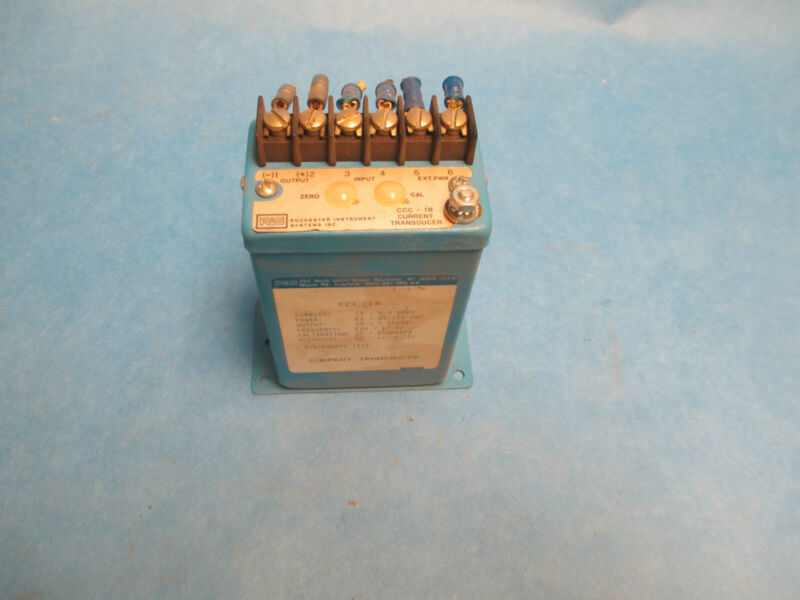 Rochester Instrument Systems Current Transducer CCC-1B
