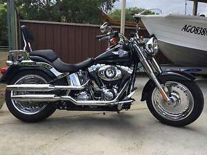 Harley Davidson fat boy 2013 Woy Woy Gosford Area Preview