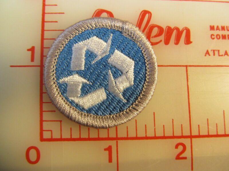 BSA 2010 backed Environmental Science merit badge emblem patch (rU)