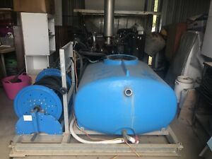Diesel skid high pressure jet wash 3000 psi high volume Witheren Ipswich South Preview