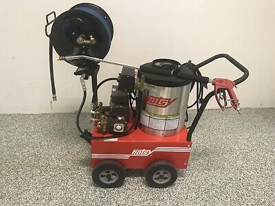 Hotsy 555ss 120vdiesel Hot Pressure Washer W All Options