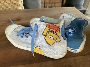 Boys Converse Shoes (The Simpsons Edition) SOLD