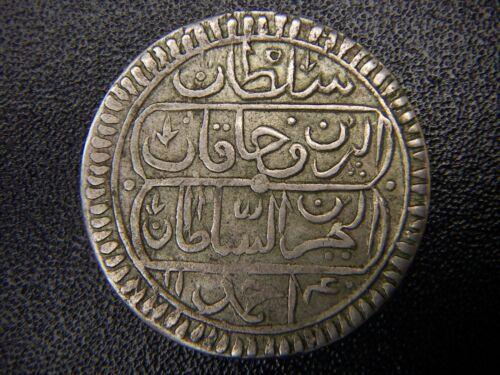 AH 1140 ISLAMIC ARABIC OTTOMAN EMPIRE TURKEY TUNISIA TUNIS TUNUS 1/4 RIYAL RARE