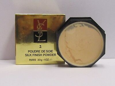 Yves Saint Laurent Silk Finish Powder # 3  30 g Full Size New In Box -
