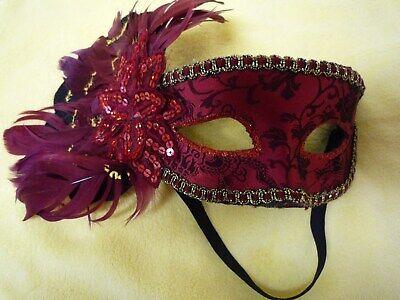 Damen Augenmaske Ballmaske Gesichtmaske , Fasching ,Halloween - Top Halloween Masken