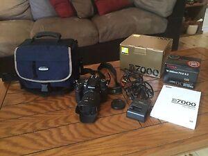 Nikon D7000 + 18-200mm