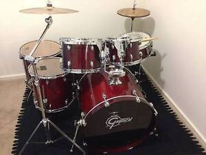 6 Piece Gretch Maple Catalina Cherry -Great sound and value! Lidcombe Auburn Area Preview