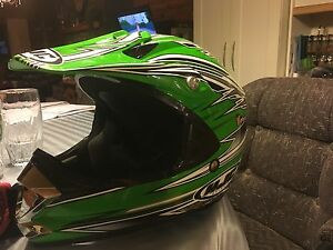 Youth dirt biking helmet