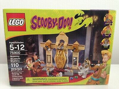 LEGO Scooby-Doo Set 75900 Mummy Museum Mystery NIB Factory Sealed! Retired!!