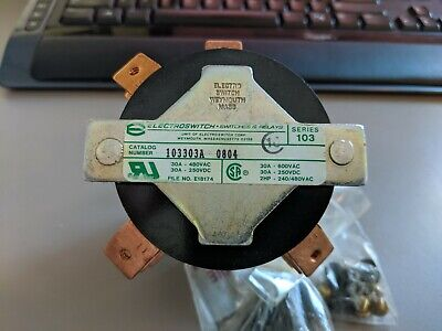 New Electroswitch 103303a 103 Series 30 Amp Nsn 5930 01 091 9570