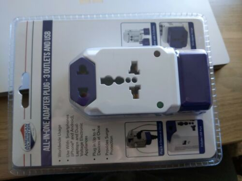 American tourester All in one Adapter Plug 30 outlet and usb