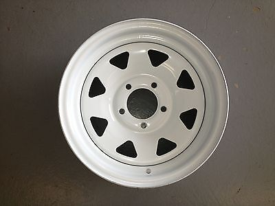 "NEW 5-Hole 14"" Spoke Trailer Wheel for RV / Camper"