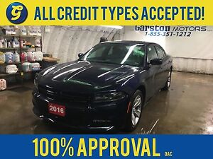 2016 Dodge Charger SXT*Navigation*Power Sunroof*Uconnect 8.4-in