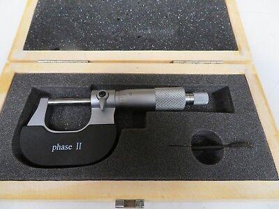 Phase Ii 0-1 .001 Od Micrometer Mw32