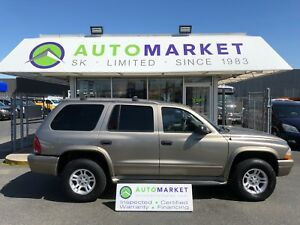 2003 Dodge Durango SLT 4WD LEATHER, 7 PASS.