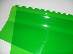 Green lighting gel