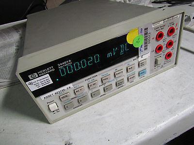 Agilent Hp 34401a Digital Multimeter 6 12 Digit Dmm 30 Days Warranty