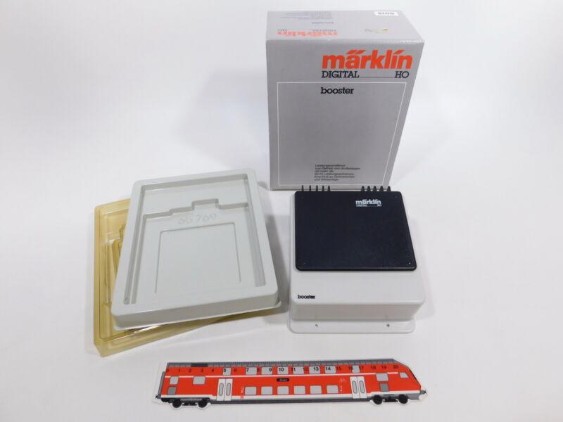 CS864-1# Märklin Digital H0/AC 6015 Booster/Amplifier, Very Good +Box